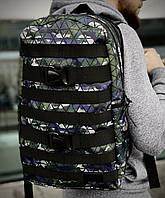 Рюкзак модний міський молодіжний якісний Intruder зелений камуфляж, фото 1