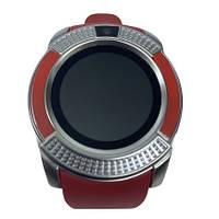 Умные часы Smart Watch XV8 Red Silver