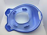 Набор детский для унитаза сиденье-накладка для унитаза и подставка для ног, фото 4