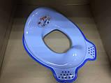 Набор детский для унитаза сиденье-накладка для унитаза и подставка для ног, фото 3