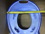 Набор детский для унитаза сиденье-накладка для унитаза и подставка для ног, фото 6