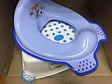 Набор детский для унитаза сиденье-накладка для унитаза и подставка для ног, фото 2