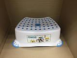 Набор детский для унитаза сиденье-накладка для унитаза и подставка для ног, фото 7