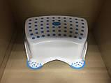 Набор детский для унитаза сиденье-накладка для унитаза и подставка для ног, фото 8