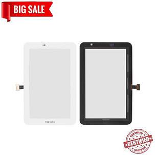 Сенсор (тачскрін) для планшета Samsung P3100 Galaxy Tab2, P3110 Galaxy Tab2, P3113, (Wi-fi) original білий, фото 2