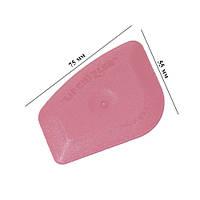 Чизлер розовый (70х55мм, сред. жесткость) используется для прижима краев плёнки, заправки плёнки в уплотнители