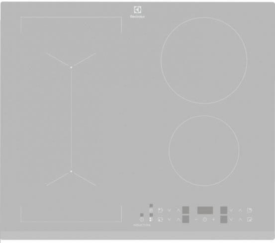 Варочная поверхность индукционная Electrolux IPE6443SF Серебристый