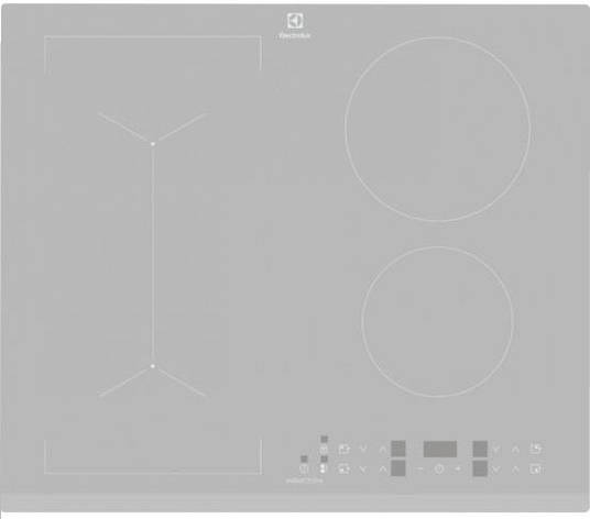 Варильна поверхня індукційна Electrolux IPE6443SF Сріблястий, фото 2