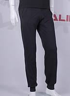 Спортивные мужские штаны из двухнитки с манжетом