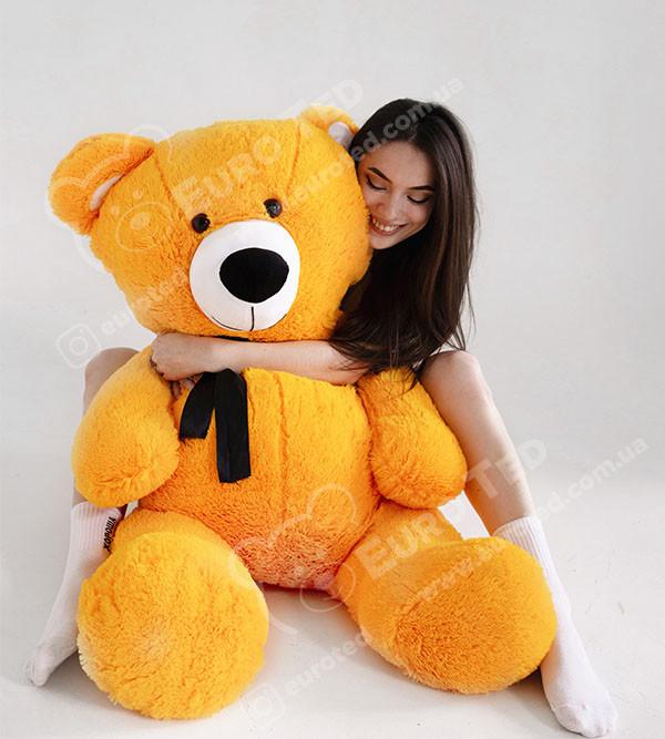 Плюшевий Ведмедик Апельсин 140см (Версія Limited)