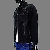 Куртка чоловіча AWIVGOSS Y-013 70% бавовна 28% поліестер 2% еластан 3XL(Р), фото 3