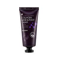 Крем для рук и ног с коллагеном Mizon Collagen Hand And Foot Cream, 100ml