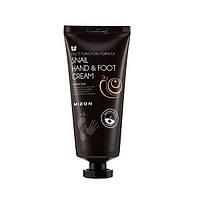 Крем для рук и ног с муцином улитки Mizon Snail Hand And Foot Cream, 100ml