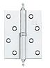 Петля Siba 100 мм разносторонняя с декором