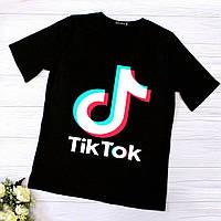 Женская футболка с логотипом Tik Tok