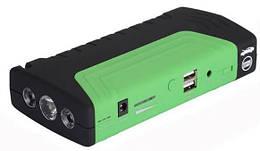 Пусковое устройство авто аккумулятора MHZ Jump Starter 6756 2000W Зеленое 010761, КОД: 1766285