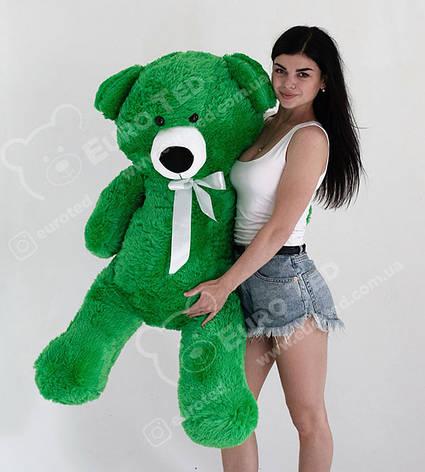 Плюшевий Ведмедик Зелений 140см (Версія Limited), фото 2