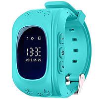 Детские умные часы MHZ Smart Watch GPS трекер Q50 G36 Blue 005430, КОД: 1723988
