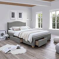 Двуспальная кровать Signal Celine 160X200 Серый CELINE160SZD, КОД: 1638074