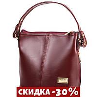 Сумка повседневная (шоппер) ETERNO Женская сумка из качественного кожзаменителя Бордовый
