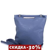 Сумка-планшет Amelie Galanti Женская сумка-планшет из качественного кожезаменителя Голубой