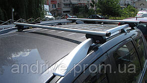 Багажник на крышу Dacia Duster 2010+ (на рейлинги)