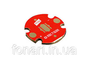 Подложка медная Noctigon V2 для светодиодов Cree XM-L/XM-L2/XHP, 20мм