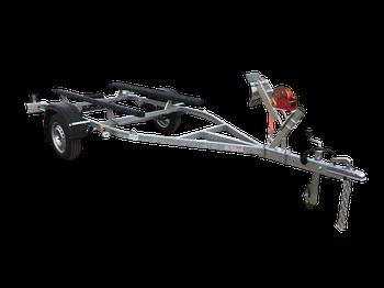 Прицеп для перевозки резиновых надувных (ПВХ) лодок до 3,2 м (эконом) SDI