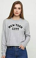 Оригинал H&M! Размер XL. Толстовка женская серая фирмы H&M. Свитшот женский НМ.