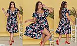 Стильное платье    (размеры 48-64) 0252-19, фото 2