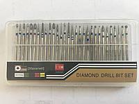 Набор насадок для фрезера Diamond Drill 30 шт. с алмазным напылением.