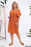 Стильное платье    (размеры 48-58) 0252-20