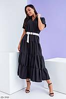 Стильное платье    (размеры 48-54) 0252-22