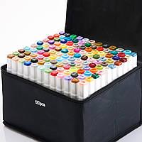 Маркеры TOUCH 120 цветов.  Набор двусторонних маркеров  для скетчинга на спиртовой основе