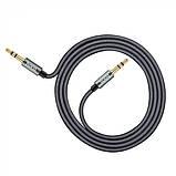 AUX аудио кабель HOCO (UPA-03) SpaceGrey, фото 2
