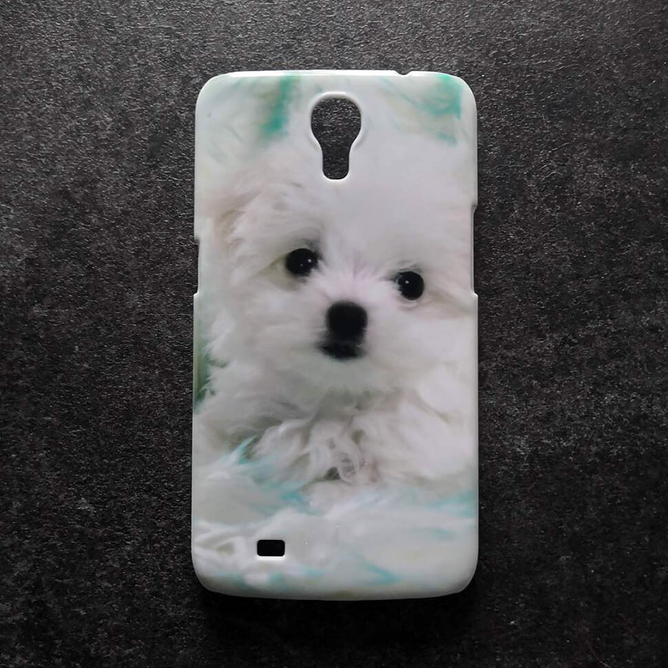 Пластиковый чехол для Samsung Galaxy mega 6.3 i9200 / i9205 Собачка