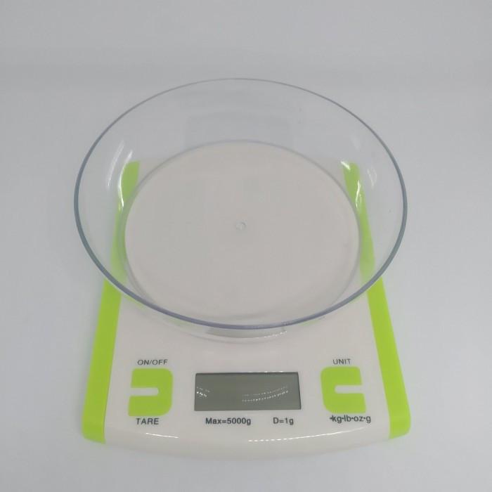 Кухонные Весы JASM Scales JM-86 до 5 кг Салатовые