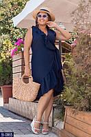Стильное платье    (размеры 50-56) 0252-27