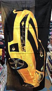 """Стильний пляжний рушник """"Camaro"""" розмір 140х70 см"""