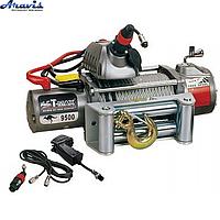 Лебідка автомобільна електрична T-Max Musclelift EW-9500 24 В электролебедка