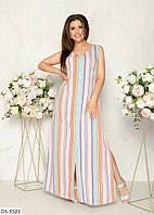 Стильное платье    (размеры 48-58) 0252-30