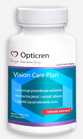 Opticren (Оптикрен) - капсулы для улучшения зрения