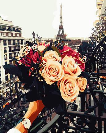 Картина по номерам - Мечты о Париже ArtStory 40*50 см. (AS0694), фото 2