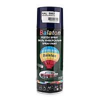 Краска Balaton 5002 синяя 400мл