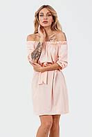 Удобное женское платье Sonia, персик