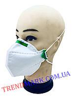 Фильтрующая маска (респиратор) МИКРОН класс защиты FFP1 без клапана