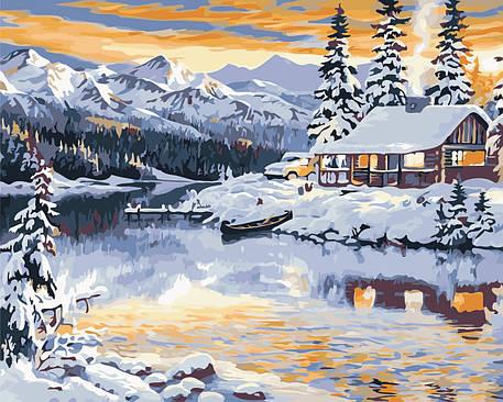 Картина по номерам - Волшебная зима ArtStory 40*50 см. (AS0378), фото 2