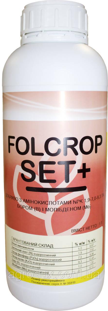 Активатор цветения и завязи Folcrop Set+/ Фолкроп Сет +,1 л