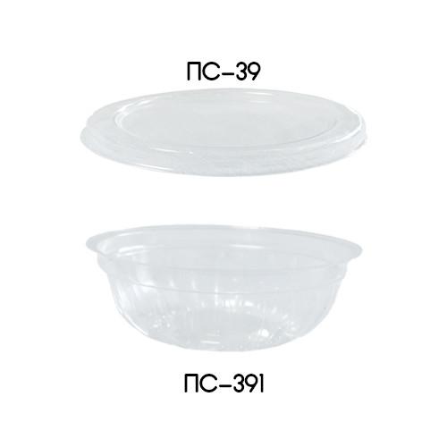 Одноразовый контейнер ПС-391 Дно для соусов и приправ - 50 мл, 20 шт.
