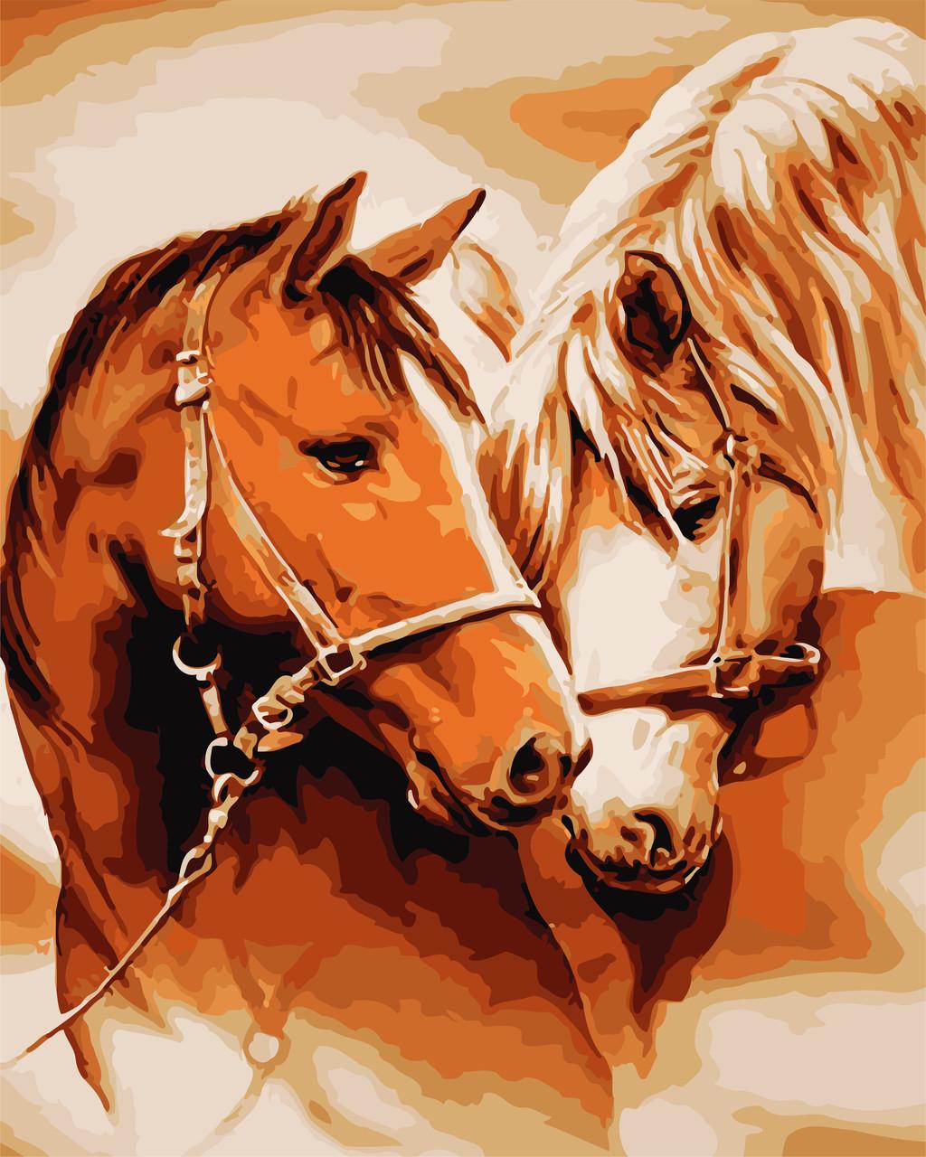 Картина по номерам - Грациозные животные ArtStory 40*50 см. (AS0729)